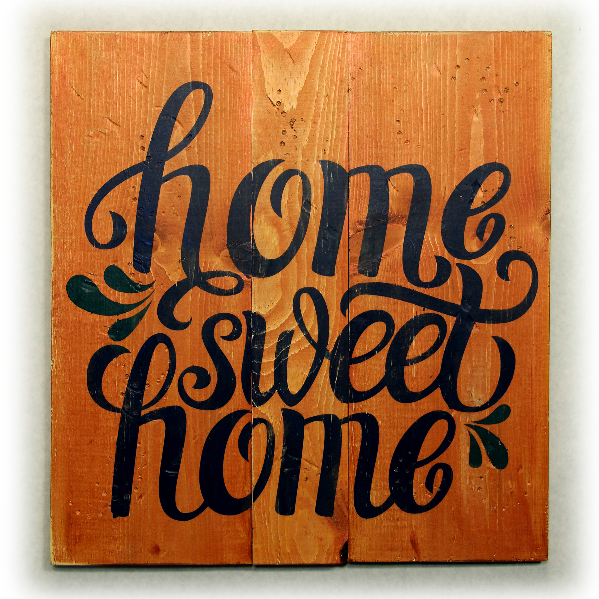 Home Sweet Home with Wreath   Pottery By You & More